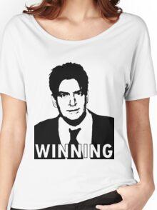 """Charlie Sheen """"Winning"""" 2 Women's Relaxed Fit T-Shirt"""