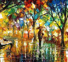 MELTING BEAUTY - original oil painting on canvas by Leonid Afremov by Leonid  Afremov
