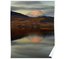 Misty Mirage on Loch Tulla Poster