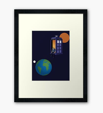 Doctor Who - A WhoView Framed Print