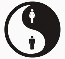 Yin Yang Man Woman Kids Clothes