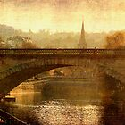 View from Pulteney Bridge: Bath by dmacwill