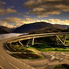 Kylesku Bridge - HDR by Chris Cherry