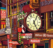 Times Square by Erin Nicholls