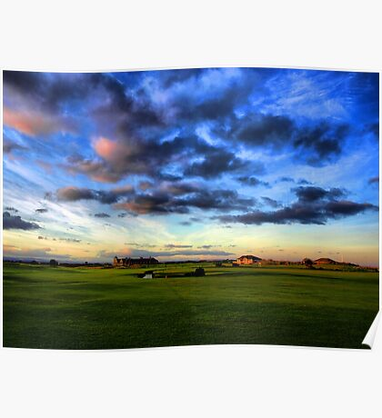 The Old Course - St Andrews Poster