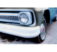 Old Chevy Pickup - Fort Worth , Texas Photographic Print