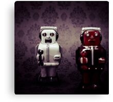 The robots Canvas Print