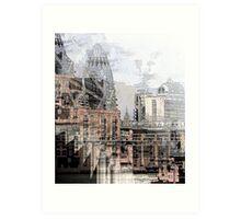 London's (Northbank) Skyline Art Print