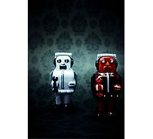 The robots Photographic Print