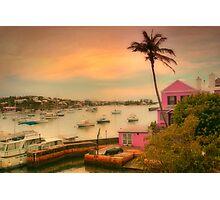 Bermuda Sunset Photographic Print