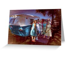 Five Classics & One Relic Greeting Card