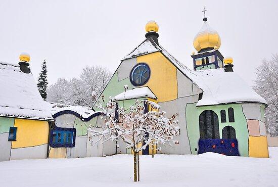 Hundertwasser Church by Kasia Nowak