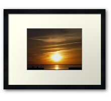 """""""Afterglow"""" Framed Print"""