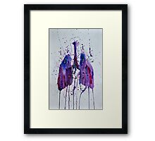 Lungs II Framed Print