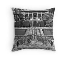 The Alhambra (Partal Palace) Throw Pillow