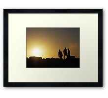 """""""Silhouette"""" Framed Print"""