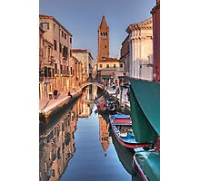 Rio and Church of St. Barnaba Photographic Print