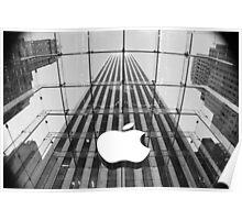 The Big Apple's Apple Poster