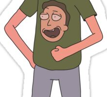 Rick and Morty: Jerry Shirt Sticker
