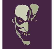 Mad Grinning Psycho Photographic Print