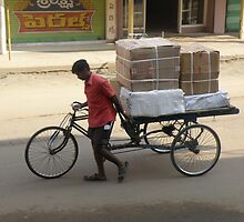 Local Deliveries - Eluru, India by Edward Denyer