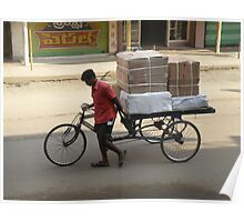 Local Deliveries - Eluru, India Poster