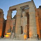 Luxor Temple by neil harrison