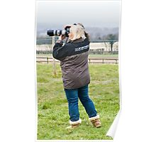 Race Horse Photographer Poster