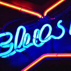 Blues Bar Neon by Guy Carpenter