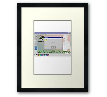 precognition Framed Print