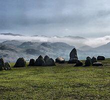 Castlerigg Stone Circle. by Lilian Marshall