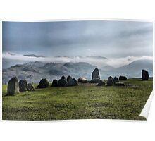 Castlerigg Stone Circle. Poster