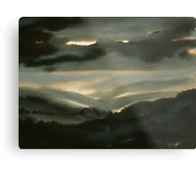 Through the Glen Metal Print
