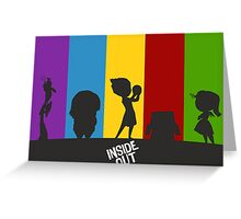 Inside Out of Emotions Greeting Card
