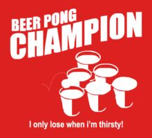 Beer Pong Champion Kids Clothes