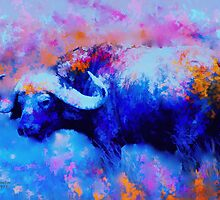 Cape Buffalo by rosalin