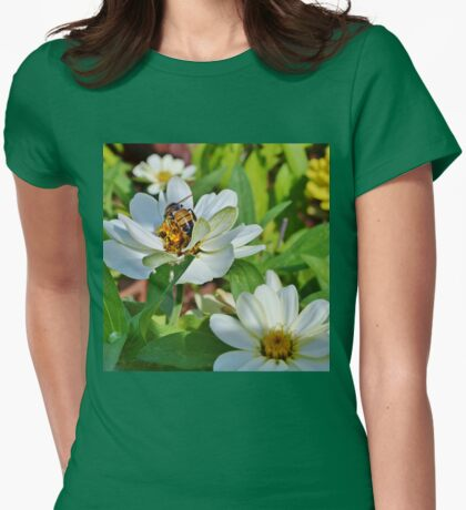In the Garden Gathering Goodies Womens Fitted T-Shirt