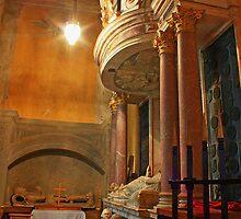 St Lawrence, Mereworth - Fane Chapel by Dave Godden