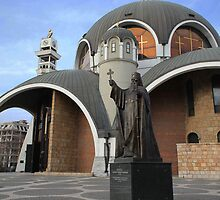 MACEDONIAN ORTHODOX CHURCH - St. Clement of Ohrid Cathedral by Miodrag Konstantinov