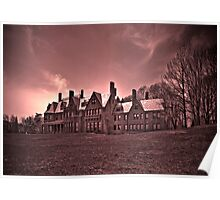 A Mansion in Sephia Poster