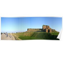 Tynemouth Priory Panorama Poster