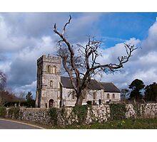 St Laurence Church Falmer Photographic Print