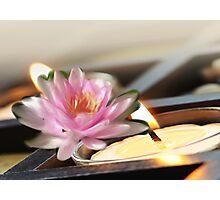 light of zen Photographic Print