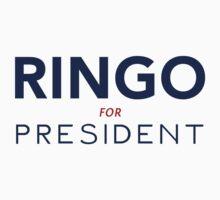 Ringo For President T-Shirt