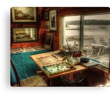 Artists Studio Nova Scotia Canvas Print