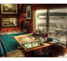 Artists Studio Nova Scotia Photographic Print