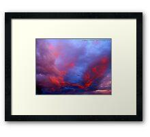 Under a Western Sky Framed Print