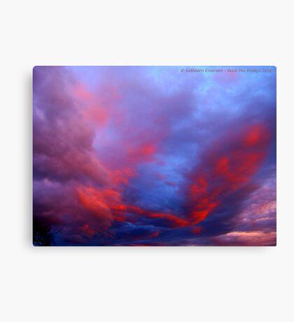 Under a Western Sky Canvas Print