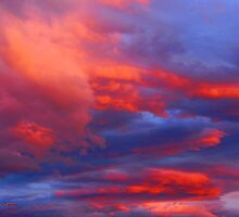 Clouds on Fire by rocamiadesign