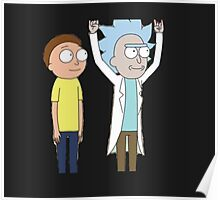 Tiny Rick and Morty Poster